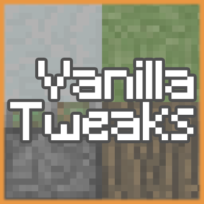 Vanilla Tweaks - Resource Packs